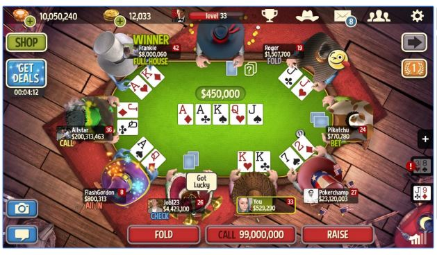Poker app free games casino piscine tubulaire