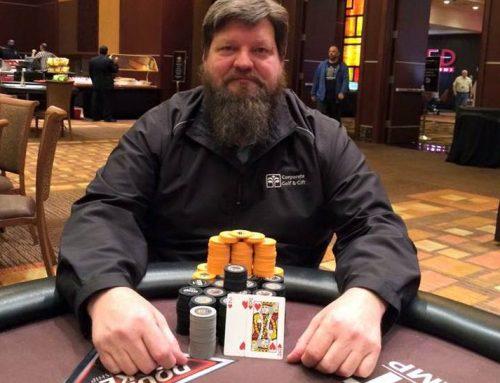 Eric Thompson bids poker goodbye