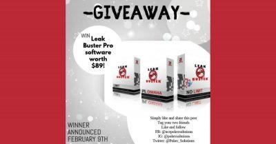 Poker Leak Buster Giveaway