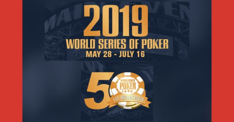2019 World Series of Poker
