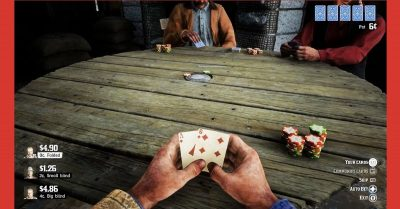 Red Dead Redemption poker