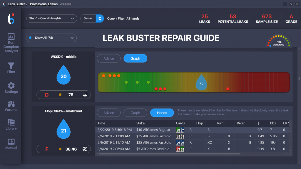 Leak Buster Repair Guide