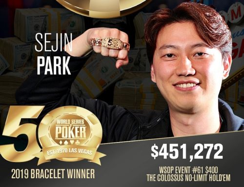 Sejin Park wins the Colossus for $451,272
