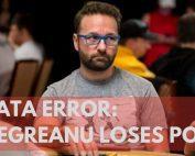 Daniel Negreanu loses POY