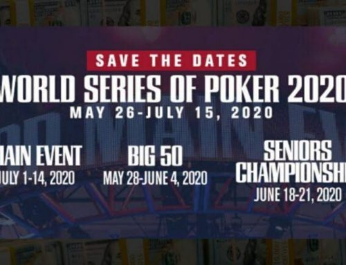 WSOP 2020: Deepstacks Events Moved to Masquerade