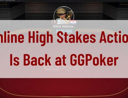 Online High Stakes Action Is Back at GGPoker